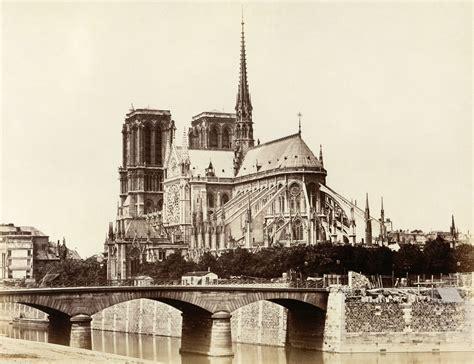 notre dame of paris file cath 233 drale notre dame de paris east facade by 201 douard baldus c1860s jpg wikimedia commons