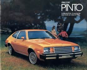 ford 1980 pinto sales brochure