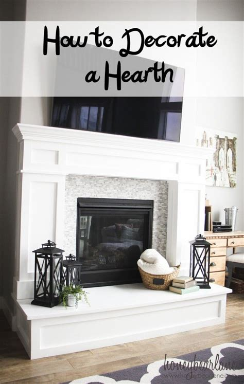 hearth decor best 25 fireplace hearth decor ideas on pinterest