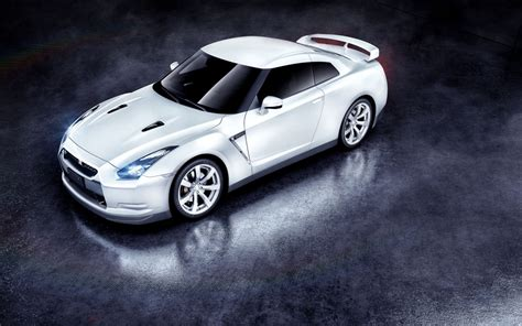 white nissan gtr wallpaper white nissan gtr wallpapers hd wallpapers id 13085