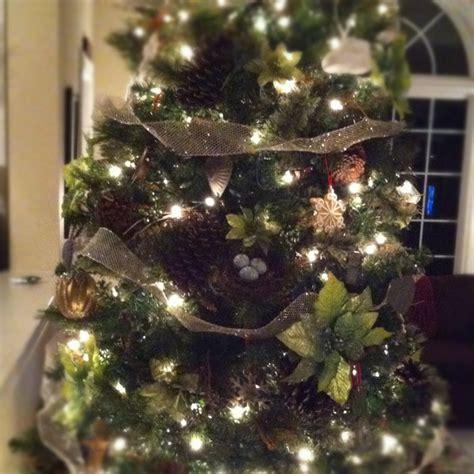 christmas tree bird nest natural christmas tree decor
