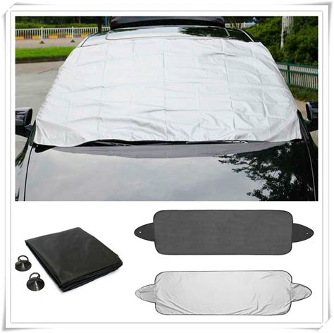 car prevent snow ice sun shade dust frost window windshield cover protector  honda pilot