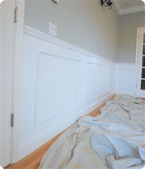 Cost To Wainscot A Room Wainscoting Recap And Reveal Centsational