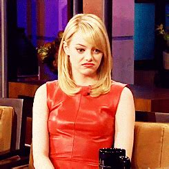 emma stone gif funny emma stone gifs find share on giphy