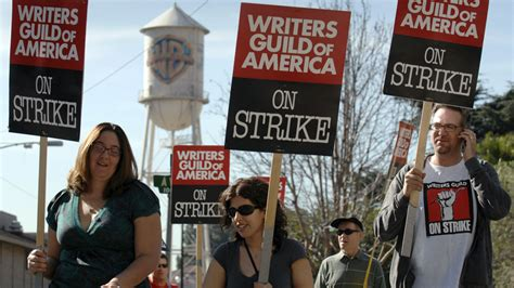 Why The Writers Strike Will Be For Fashion Week by Tensions Rising In As Writers Guild Renews