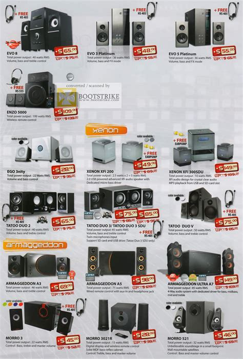 Speaker Sonicgear Ego3 Nity Sdu leap frog sonicgear speakers evo 8 3 platinum 5 enzo 5000