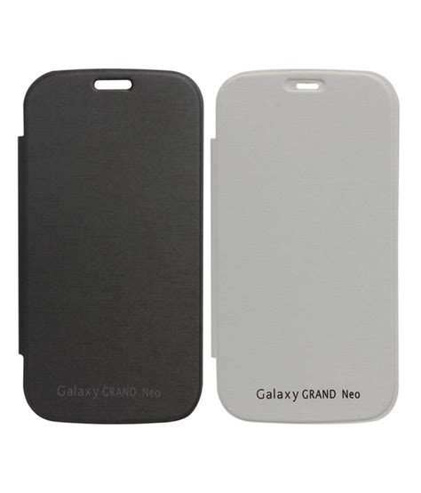 Flipcover Flipcase Ume Samsung Grand Neo dmg black and white flip combo for samsung galaxy grand neo i9060 buy dmg black and white