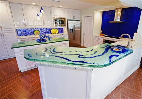 Recycled Glass Countertops San Antonio by Downing Designs Image Gallery Proview