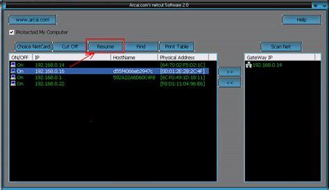 tutorial menggunakan netcut 3 0 dharma bhawel n a cara mematikan jaringan lan pada