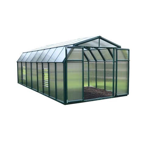 rion sun room 8 ft x 14 ft clear greenhouse 702133 the
