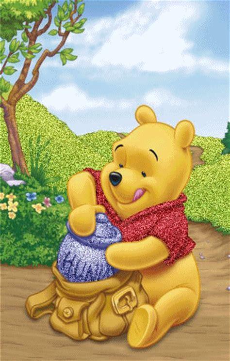 imagenes de winnie pooh feliz cumpleaños glitter honey winnie the pooh disney image 691