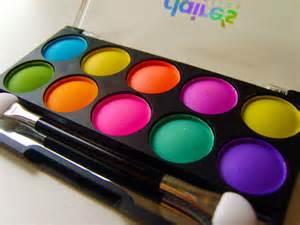 makeup colors fashion design neon eye makeup neon eyeshadow neon