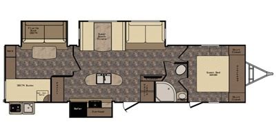 sunset trail rv floor plans 2016 crossroads sunset trail reserve st33bd prices build