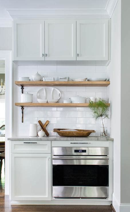 kitchen cabinet shelves wood stacked wood kitchen shelves with iron brackets