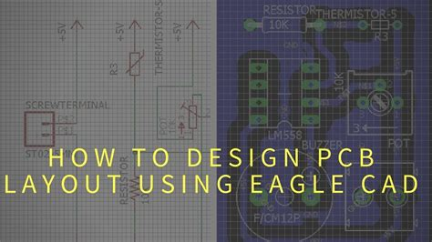 pcb design tutorial using eagle how to design pcb using eagle printed circuit board layout