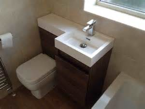 Combined Bath And Shower Units Space Saving Combined Wc And Basin Unit With Bathroom