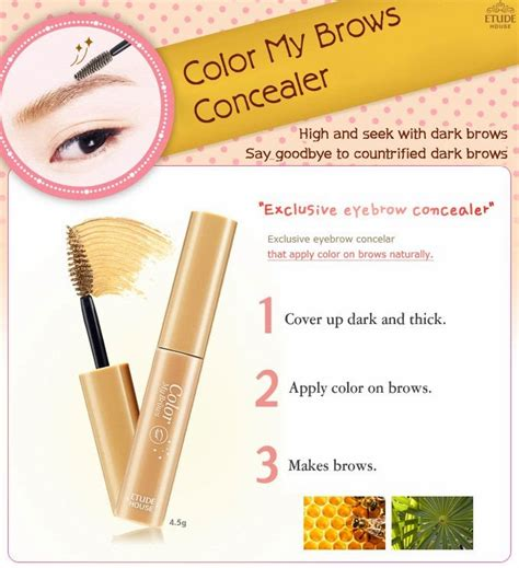 Park Eyebrow Pencil 2 Colors beautyreview ღ etude house color my brows