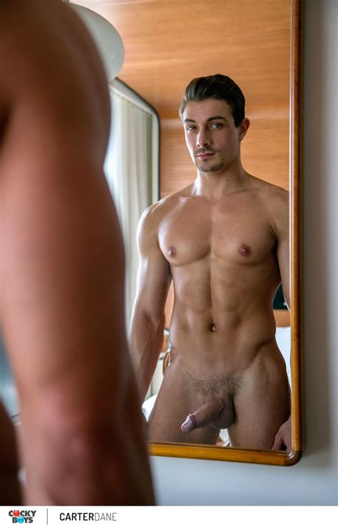 A Stunning Newcomer Carter Dane From Cockyboys