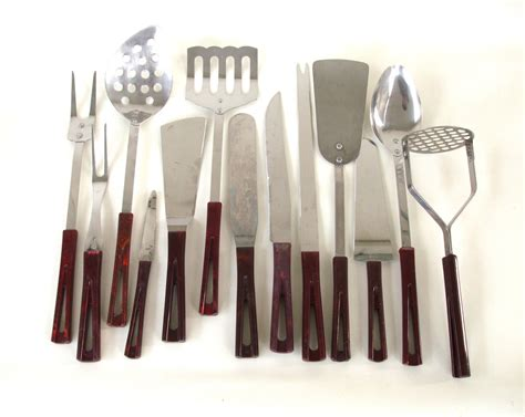 modern kitchen tools mid century modern kitchen utensil set stanhome by