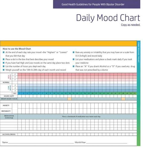colors and moods chart printable mood colors charts patient mood on
