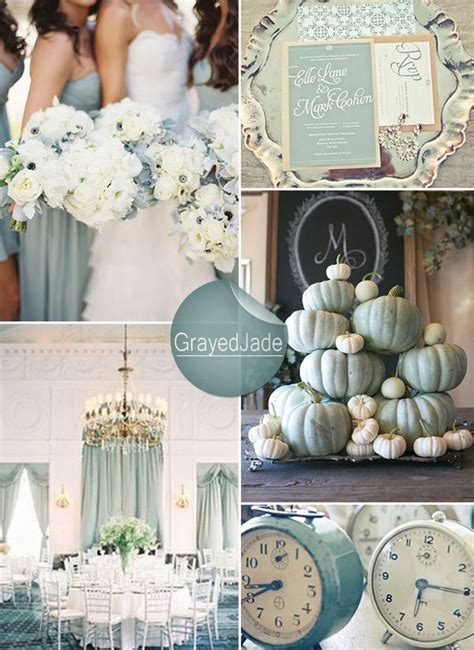 Shades of Green Wedding Color Ideas and Wedding