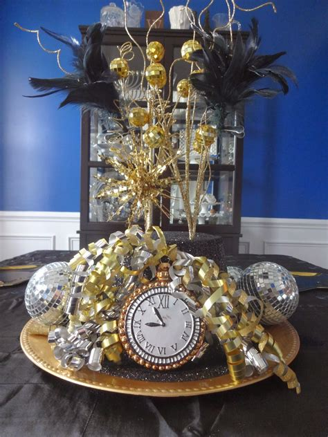 new year s centerpieces raising them up right new years decor