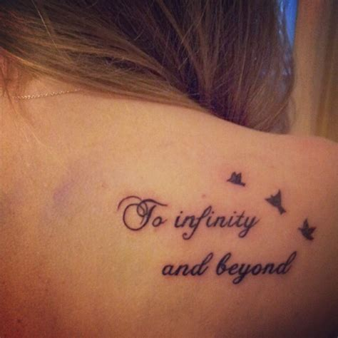 tattoo infinity and beyond tattoo infinity loveit on instagram