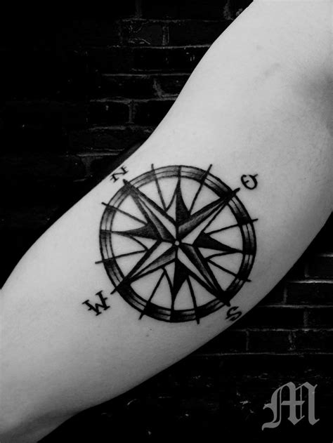 tattoo compass star sailor tattoo compass nautic star tattoo