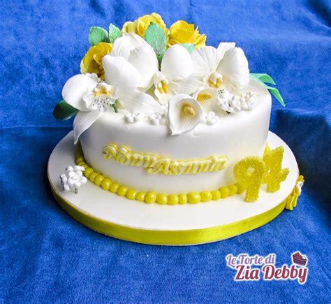 fiori per compleanno ragazza torta con fiori per una ragazza di 94 anni le torte di