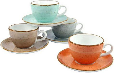 creatable kaffeetassen set  cl porzellan  teilig