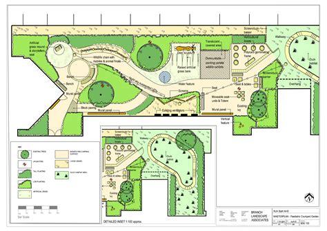 Courtyard Designs hospital landscapes amp commercial landscape design acla