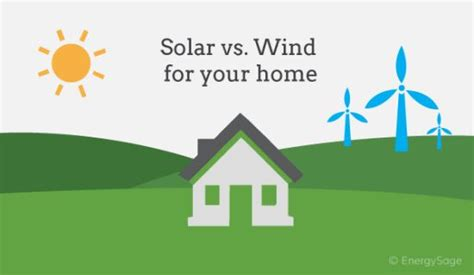 Solar Vs Wind Energy Which Is Right For Your Home