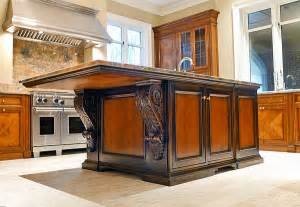 custom kitchen islands that look like furniture