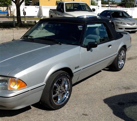 1989 mustang lx convertible 1989 ford mustang lx convertible 2 door 5 0l v8 25th