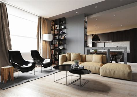 modern lounges crisp comfortable apartment designs