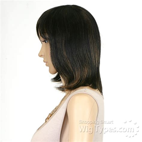utube bump hair in a bob sensationnel 100 human hair bump wig chic bob