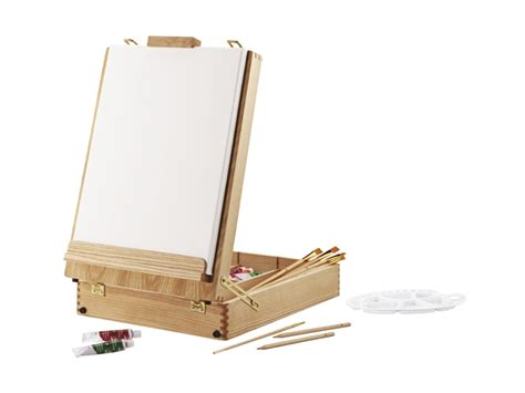Kids Table Set Crelando Tabletop Box Easel Lidl Great Britain