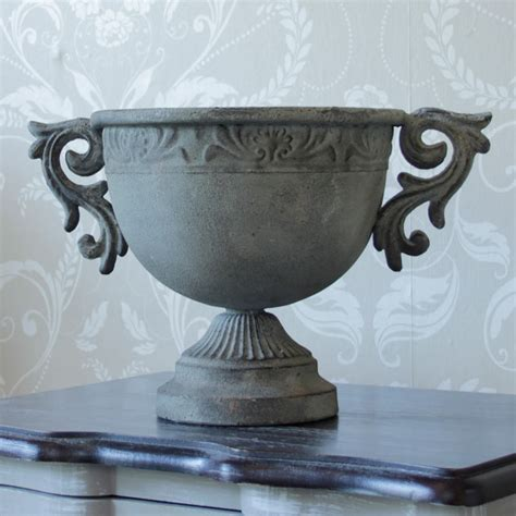 Metal Urn Planters by Ornate Metal Urn Planter Melody Maison 174