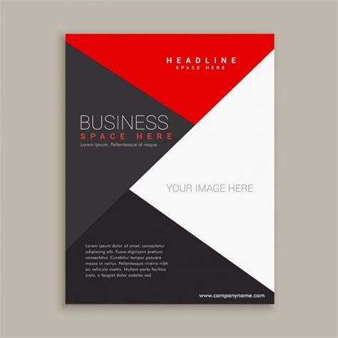 modern minimal broschuere design vorlage  der