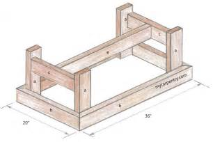 Plans For A Coffee Table Coffee Table Plans