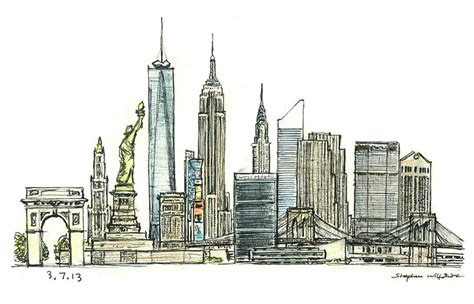 new york drawings 0571326919 new york montage original drawings prints and limited editions by stephen wiltshire mbe