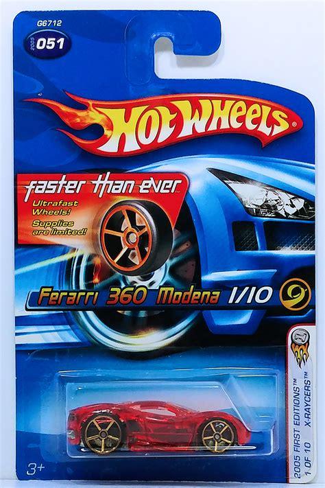 Wheels 360 Modena X Raycers Card hobbydb