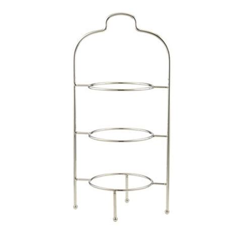 Tiered Plate Rack by 3 Tier Plate Stand Creative Home 73045 3 Tier Dinner