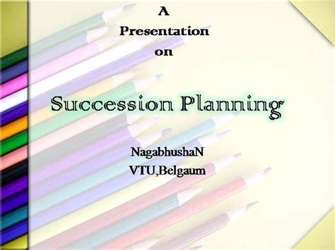 Succession Planning Authorstream Succession Planning Powerpoint