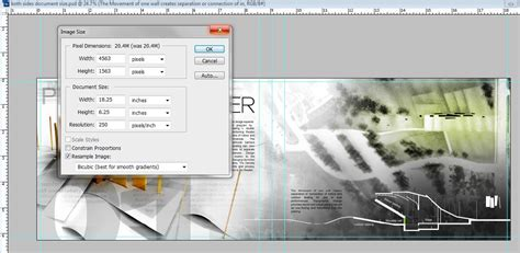 layout portfolio photoshop portfolio tutorials visualizing architecture