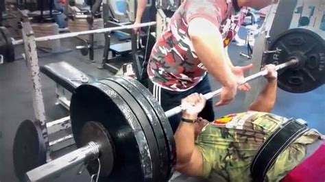 415 bench press big o bench press 415 2x youtube