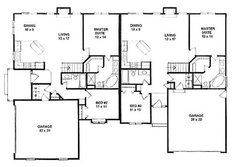 single story multi family house plans garage apartment plans single story woodworking projects plans