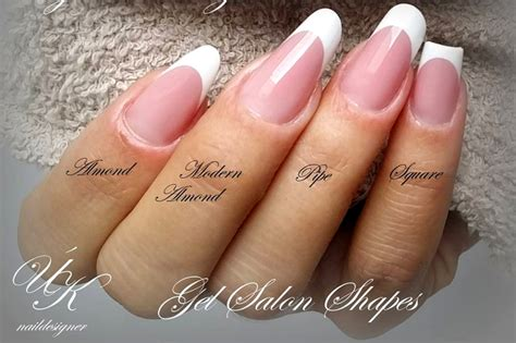 Different Styles Of Nail by Top 85 Nail Shapes