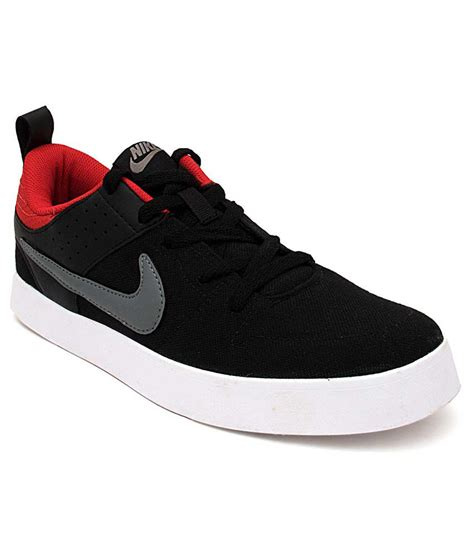 nike canvas sneakers nike black canvas shoes n669593010 buy nike black
