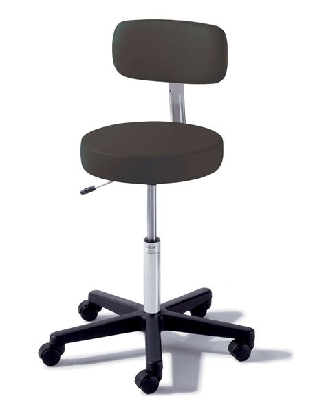 Midmark Stool by Midmark Airlift Stool Comp Base Air Adj W B Blueberry